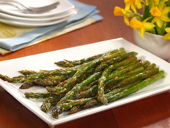 Maple Roasted Asparagus