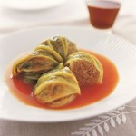 Cabbage Rolls with Maple Syrup