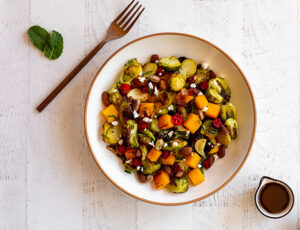 Brussels Sprout Medley with Maple