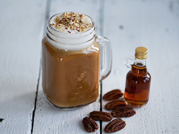 Vegan Maple Pecan Latte