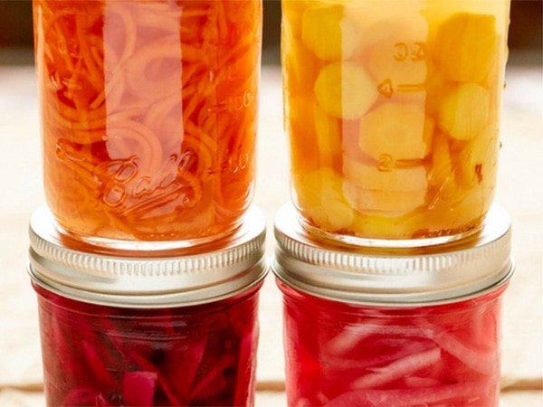 Maple Brined Seasonal Pickles