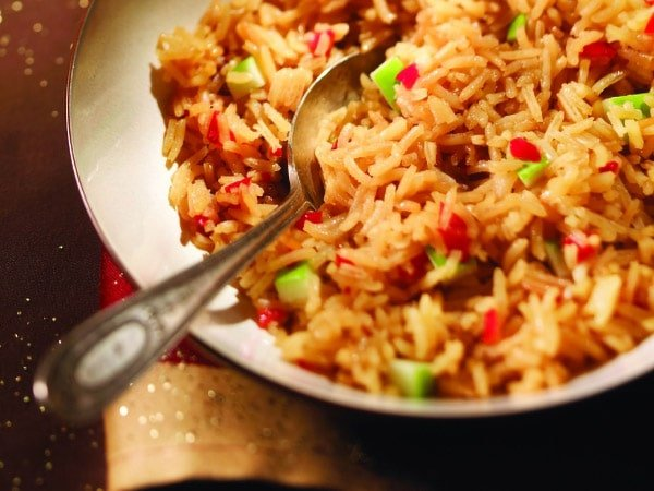 Maple and Green Apple Rice