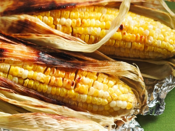 Maple Grilled Corn