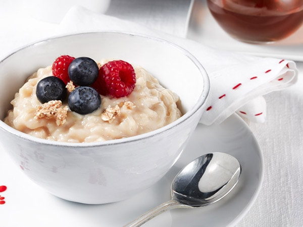 Maple Rice Pudding for Pre-Workout Snack