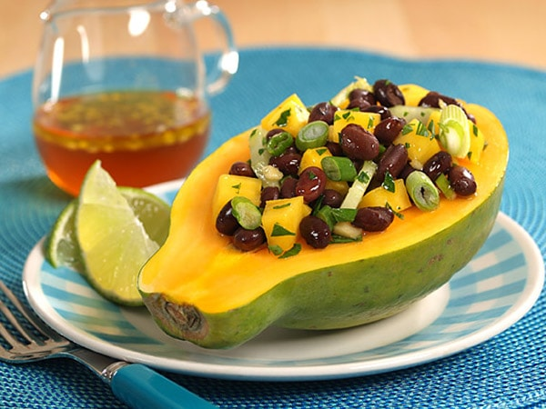 Mango Black Bean Salad with Sesame Vinaigrette