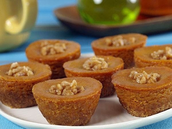 Baby Pumpkin Cheesecakes