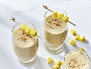 Mango Smoothie, with Maple and Tofu