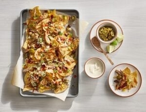 Maple-Lime Chicken Nachos
