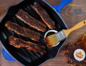 Bourbon Maple Ribs