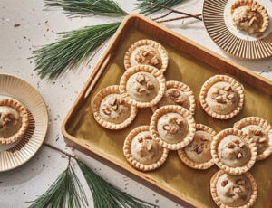 Maple Eggnog Tarts