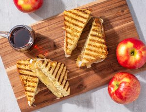 Maple Apple and Brie Panini