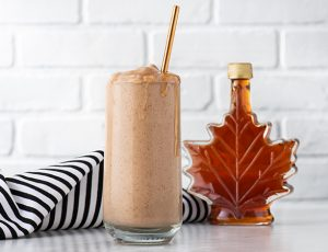 Spiked Maple Frappe